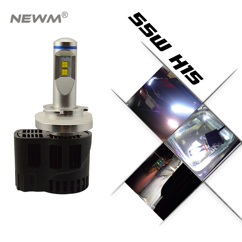 2018 Новый P6 110W 10400LM светодиодный фар Conversion Kit лампочки Canbus H4 H7 H11 9005 9006 H13 D2 D1 HB3 9004 9007 - 4
