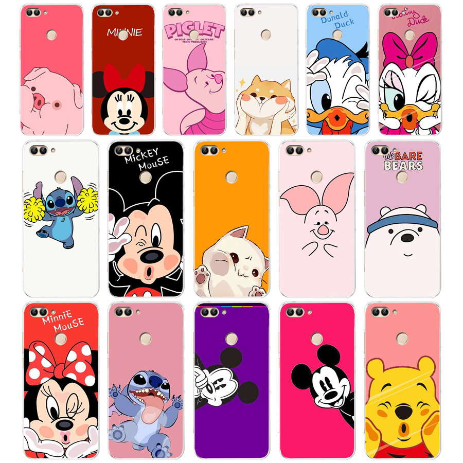 18 ZX Animals Pigs, Cats, Mice, Ducks Soft Silicone Case For Huawei Honor Mate 20 Pro View 10 P Smart 2018 2019 Cell Phone Cover