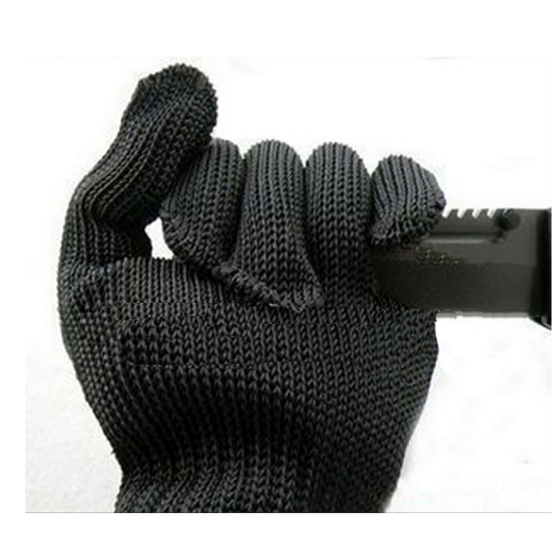 1 párové ochranné rukavice chránící drátěné rukavice z nerezové oceli Řezné rukavice řezné odolné proti řezání