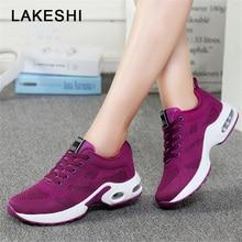 Women Casual Shoes Leather Shoes Woman Fashion Women Sneakers 2019 Hot Cushion Damping Shoes Four Seasons Trainers Female Shoes
