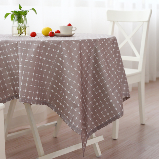 Superb Waterproof Table Cloth PVC Tableclothes Coffee Table Garden Covers Coffee  Table Cover Mat Rectangular Cloth