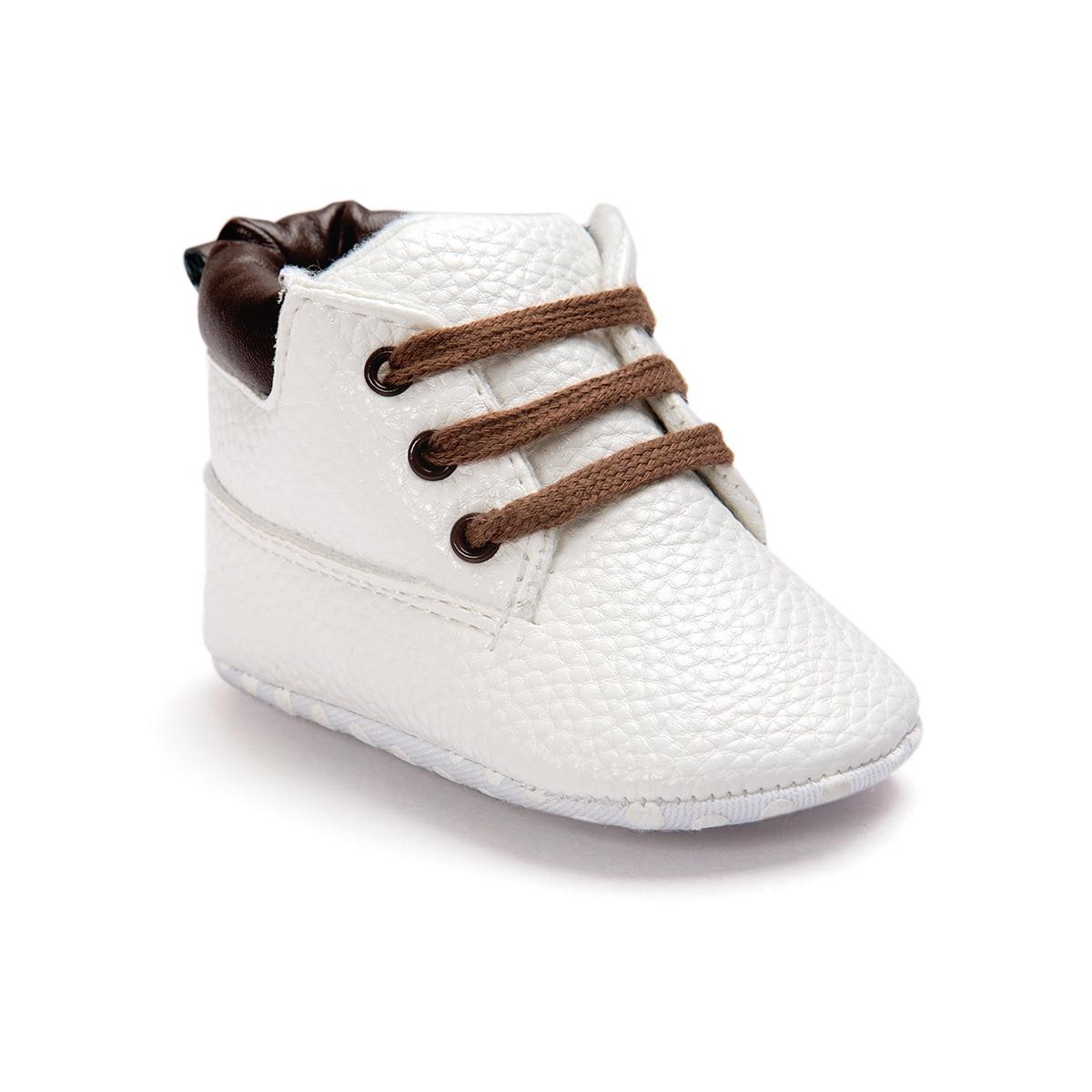 ROMIRUS Bayi Pertama Walkers Sepatu Bayi Lembut Bawah Mode Jumbai - Sepatu bayi - Foto 4