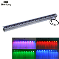 LED Wallwasher Landscape Light 12W 18W 36W AC/DC 24V AC 85V 265V outdoor linear lighting Wall Linear Lamp Floodlight 100cm
