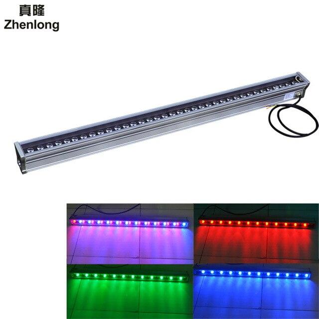 Lumière de paysage de walllaveuse de LED 12 W 18 W 36 W AC/DC 24 V AC 85 V-265 V éclairage linéaire extérieur lampe linéaire de mur projecteur 100 cm