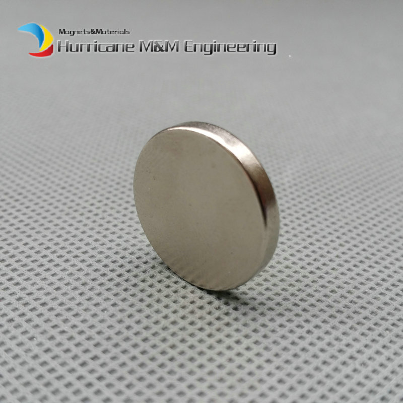 1 pack NdFeB Disc Magnet dia. 3/4x1/16 thick 19.05x1.59 mm Neodymium Permanent Magnets Grade N42 NiCuNi Axially Magnetized 1 pack dia 4x3 mm jewery magnet ndfeb disc magnet neodymium permanent magnets grade n35 nicuni plated axially magnetized