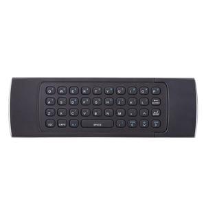 Image 4 - MX3 портативный 2,4G беспроводной пульт дистанционного управления клавиатура управление ler Air Mouse для Smart TV Android TV box mini PC HTPC black