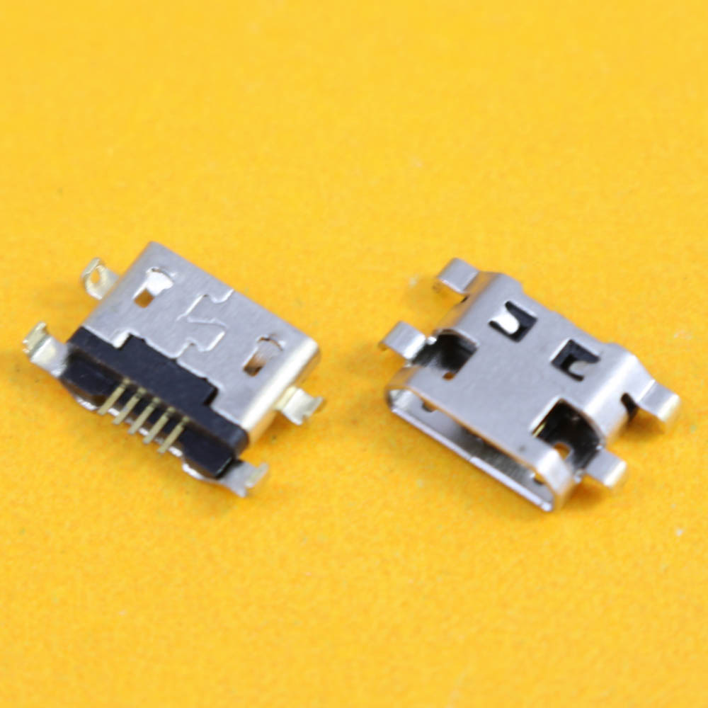 cltgxdd 50pcs/lot For <font><b>Alcatel</b></font> <font><b>6035R</b></font> Idol S 4033 4033D POP C3 micro usb charge charging connector plug dock socket charger port image