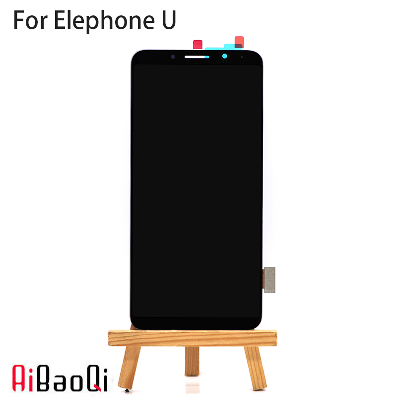 AiBaoQi New Original 5 99 inch Touch Screen 2160X1080 LCD Display Assembly Replacement For Elephone U