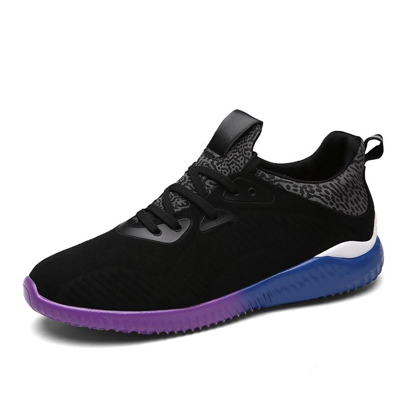 ФОТО 2017 New Sport Design Men Shoes Spring Autumn Men Casual Shoes Fashion Breathable Flock Lace-Up Men`s Shoes Zapatos Hombre