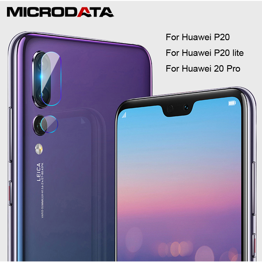 MicroData Camera Lens Tempered Glass For P20 lite P20 Pro 2.5D Screen Protector For Huawei P20Pro P20Lite Protecctive film