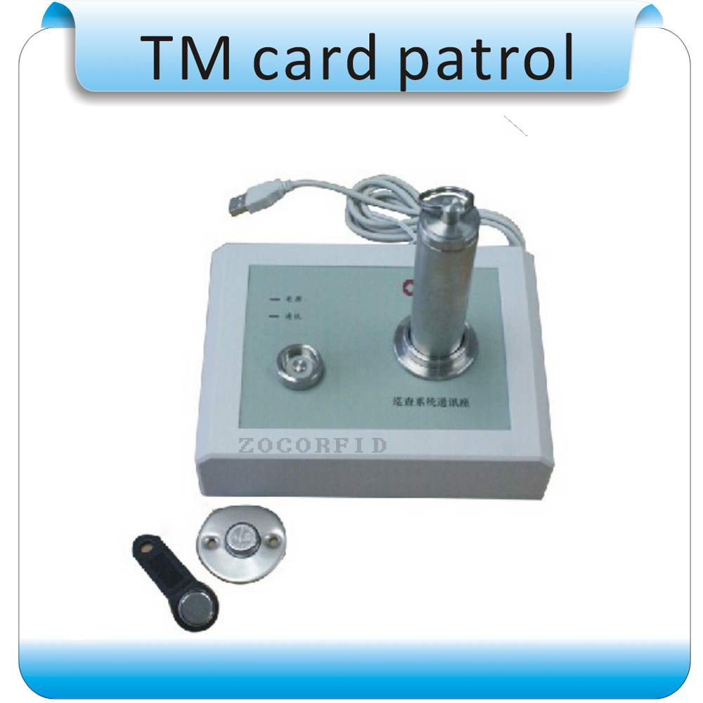 China Production OCOM-PA Contactless Security Patrols And Attendance System, 1bar, +1 Data Collection Base, +20 Points English