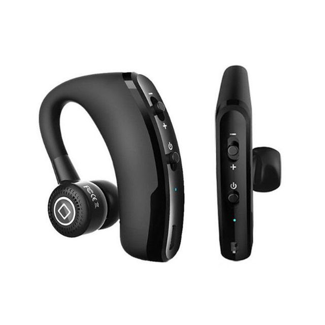 V9 earphones Handsfree Business Bluetooth Headphone With Mic  Wireless Bluetooth Headset For Drive Noise Reduction 5