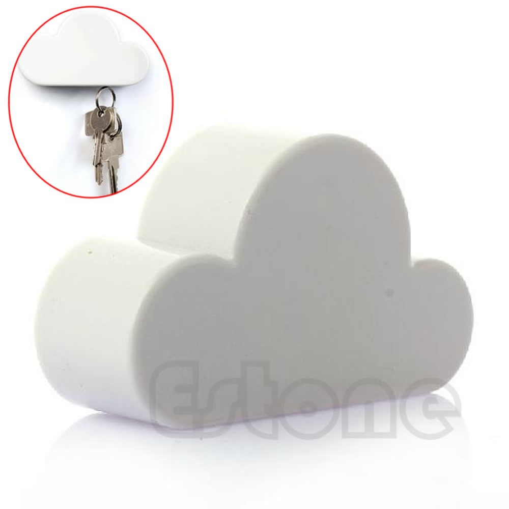 Cool Stuff New Hot Novelty White Color Cloud Shaped Magnetic Magnets Key Holder Gift