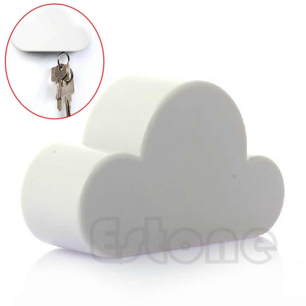 Nueva novedad Color blanco nube en forma de imanes magnéticos llavero regalo en Soportes y estanterías de almacenamiento de Hogar y Jardín en AliExpresscom  Alibaba Group