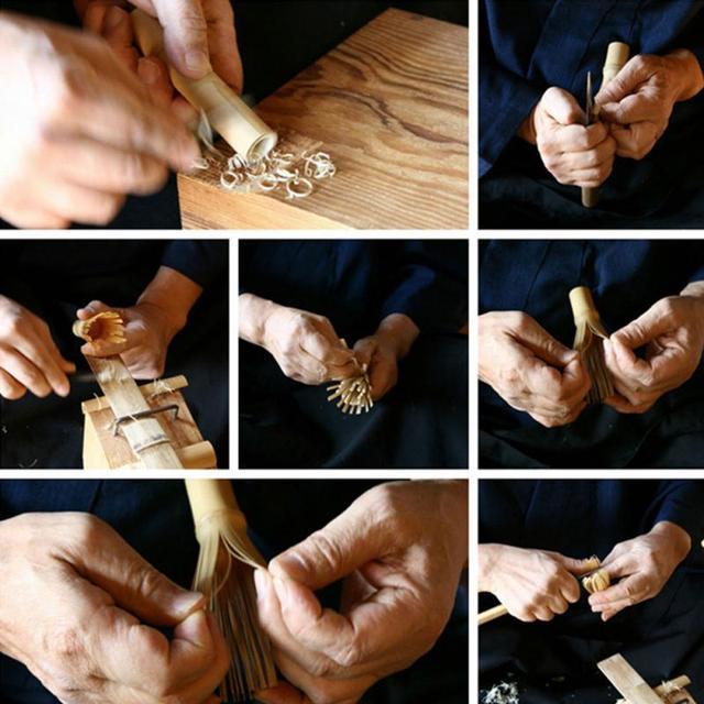 Bamboo Japanese Style Powder Whisk Matcha Tea Whisk Practical Powder Green Tea Grinder Brush  Tea Tool for Matcha