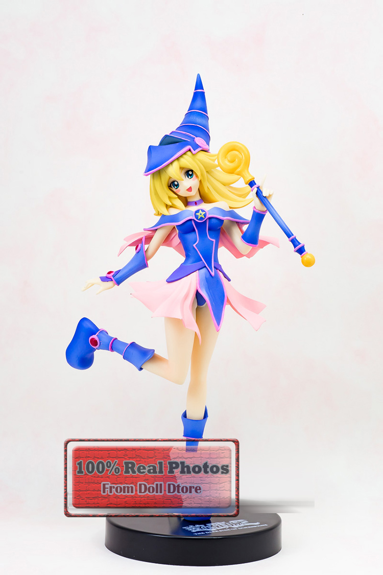 170 mm original Japanese anime figure Furyu Duel Monsters Dark Magician Girl action figure collectible mdoel toys for boys japanese anime figure kurosaki ichigo bleach action figure collectible model toys for boys