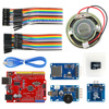 Wav Player Kit With UNO R3 Micro SD Card Touch Sensor Module And Speaker For Arduino
