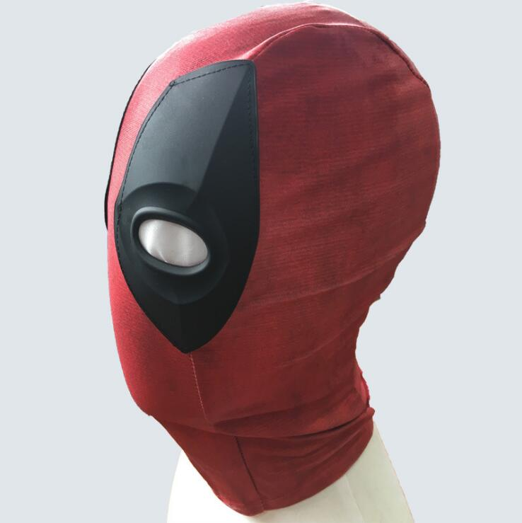Masks Eye Masks Deadpool Cosplay Full Face Mask Perspective Breathable Knit Helmet Masks Clothing Shoes Accessories