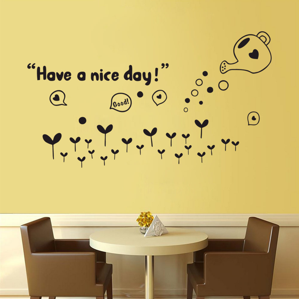 2017 Have A Nice Day Removable Art Vinyl Mural Room Decor Wall ...