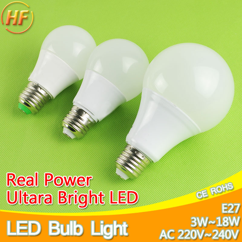 Aluminum Cooling High Bright LED Lamp E27 LED Bulb Light 3W 5W 7W 9W 12W 15W 220V Real Watt SMD 2835 5730 Lampada LED lights high power 12v led bulb smd 5730 portable led lamp outdoor camp tent night fishing hanging light lamparas 3w 5w 7w 9w 12w