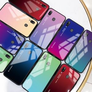 Image 3 - Samsung Galaxy A20E A20S A20 degrade temperli cam Samsung kılıfı Samsung A20 E r E r E r E r E r E r E r E r E r E r A 20e A20e Aurora renkli arka kapak