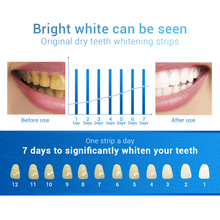 10Pcs/5Pairs Teeth Whitening Strips 3D White Gel Dental Perfect Smile