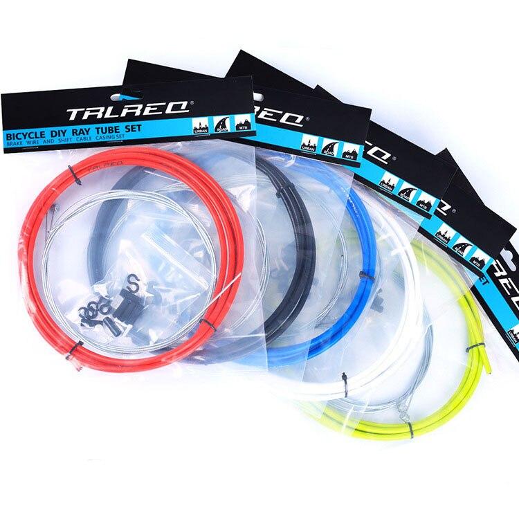 Ensembles universels de câbles de frein/changement de vitesse et de boîtier pour vtt vélo route vélo dérailleur/kits de frein tuyau de ligne de Tube métallique
