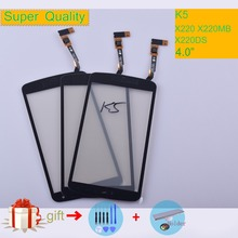 K5 For LG K5 X220 X220MB X220DS Touch Screen Touch Panel Sensor Digitizer Front Glass Outer Lens Touchscreen NO LCD black