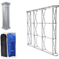 aluminium alloy flowerwall stand pillar frame for wedding backdrops decoration factory sale