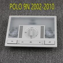 6Q0959613A серый купол светильник для чтения переключатель лампы для VW Polo 9N 2002-2010 Fox EU Altea Leon Toledo 6QD959613 Y20