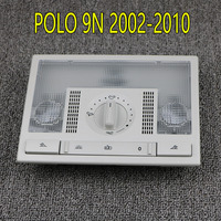 dome lamp 6Q0959613A Grey Dome Reading Light Lamp Switch For VW Polo 9N 2002-2010 Fox EU Altea Leon Toledo 6QD959613 Y20 (1)