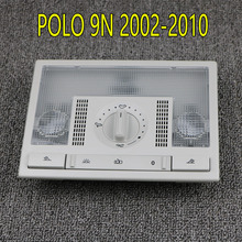 6Q0959613A Grey Dome Reading Light Lamp Switch For VW Polo 9N 2002-2010 Fox EU Altea Leon Toledo 6QD959613 Y20