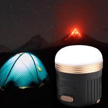 купить USB Charging LED Light Tent Lamp Bluetooth Speaker with Magnet & Hook for Camping Emergency night light дешево