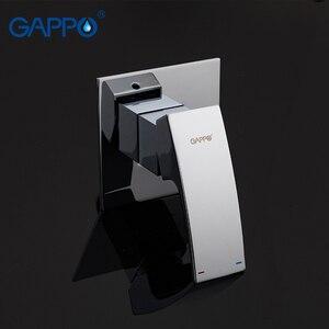 Image 3 - GAPPO ก๊อกน้ำ Bidet ทองเหลืองสเปรย์ห้องน้ำสีขาวและโครเมี่ยมมุสลิมฝักบัว bidet ก๊อกน้ำห้องน้ำ bidet ผสมน้ำฝักบัว
