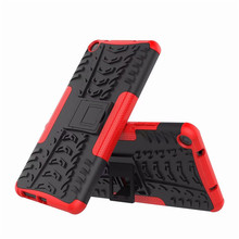 Light weight Stand TPU+PC Shockproof Protective Silicone Plastic Armor Case For Lenovo Tab 3 7 Plus 7703 7703x TB-7703X TB-7703F