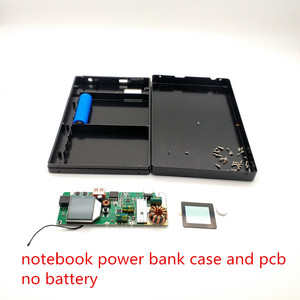 Image 2 - Notebook Power Bank quick charge 18650 fall QC3.0 DIY Batterie Schnelle Ladegerät Box shell DC5V12v15v 19 V USB Externe Batterie ladegerät