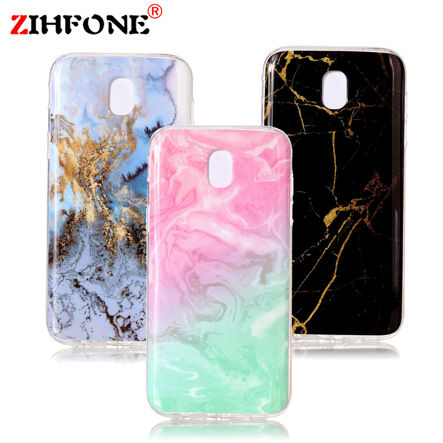 For Samsung Galaxy J5 2017 Case Granite Marble Skin Soft TPU Clear Silicone Back Cover For Samsung Galaxy J530 J5 Pro Phone Case