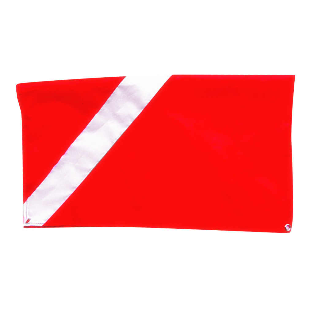 Diver Down Vlag Scuba Vlag Dive Apparatuur Nieuwigheid Boot ATV Spearfish 20x24""