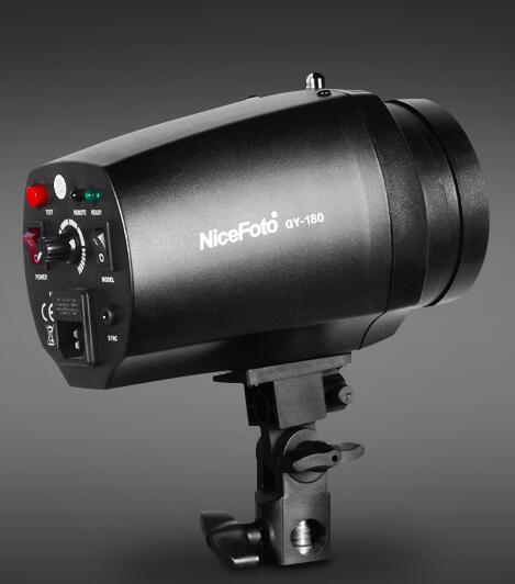 Mini Flash de Estudio NiceFoto GY-180 180 W Temperatura de Color 5500 K Equipo F