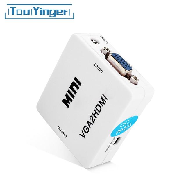 Mini Vga Naar Hdmi Converter Video Audio VGA2HDMI HDMI2VGA AV2HDMI HDMI2AV 1080P Adapter Connector Voor Pc Laptop Naar Hdtv