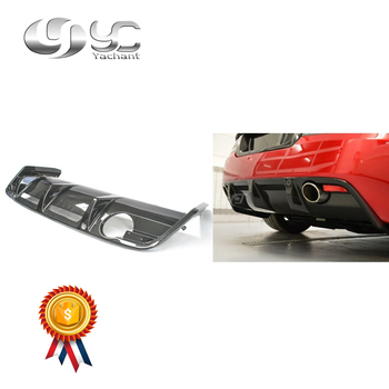 Car-Styling High-Quality Dry Carbon Fiber Rear Bumper Diffuser Fit For 2007-2012 DBS OEM Style Rear Diffuser