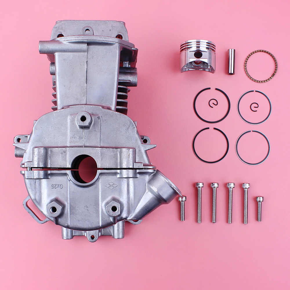 Crankcase Cylinder 35mm Piston Mount Bolt Kit For Honda GX25 GX25N HHT25S  Trimmer Brush Cutter Mower Small Engine Motor