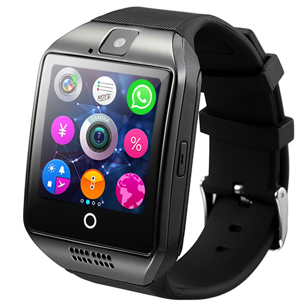 TimeOwner Smart Watch Q18 Passometer Camera Touch Screen TF Card Phone Watch Bluetooth Smartwatch Watch for Samsung Android IOS стоимость