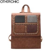Otherchic нубук рюкзак женские винтажные Рюкзаки подростков Школьные ранцы Модные женские рюкзаки SAC DOS L-7N08-11
