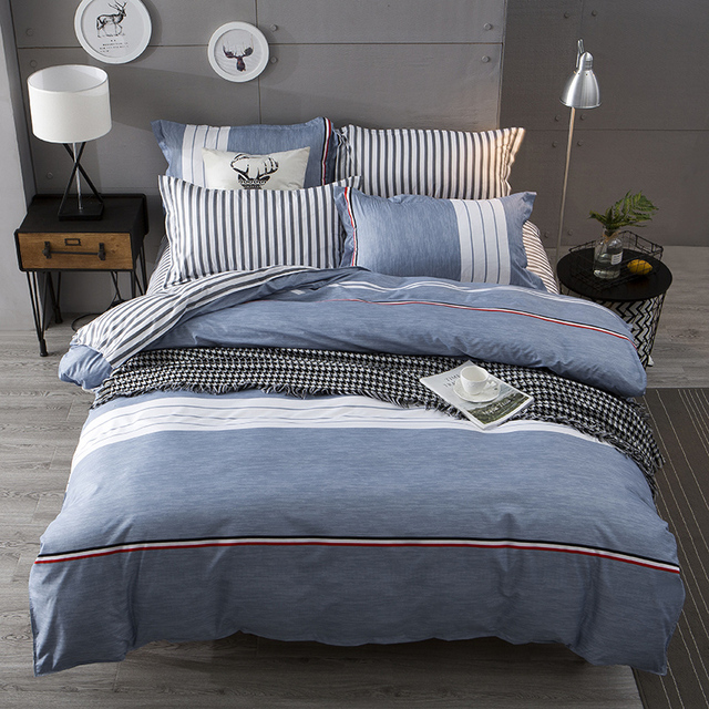 Usa Russian Europe Size Bedding Set Double Bed Linens Sheet Set For