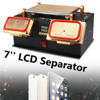 3 In 1 A Frame LCD Repair Screen Separator Auto Heat Metal Plate Safety Power System Anti Static Built in Imported Suction Pump