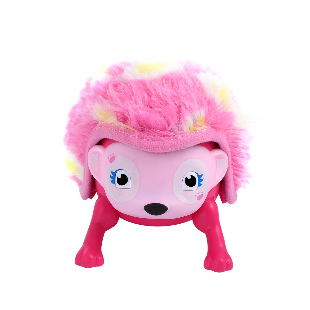 Electronic Pet Baby Toys Whirl Interactive Hedgehog With Multi-modes Lights & Sounds Touch With Hedgehog Rolling Induction Toys