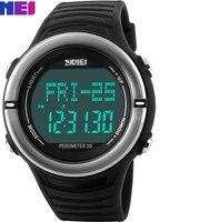 NEW SKMEI Mens Digital LED Watch Alarm Watches Backlight Waterproof Wristwatch relogio masculino clock G Style Shock male