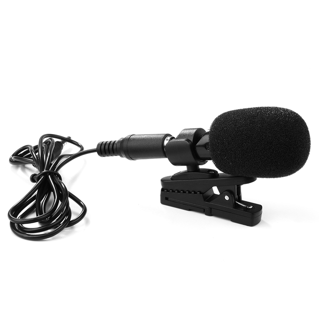 XCSOURCE M6 Professional 3.5mm Mini Mic Microphone Stereo Recording for iPhone iPad TH426