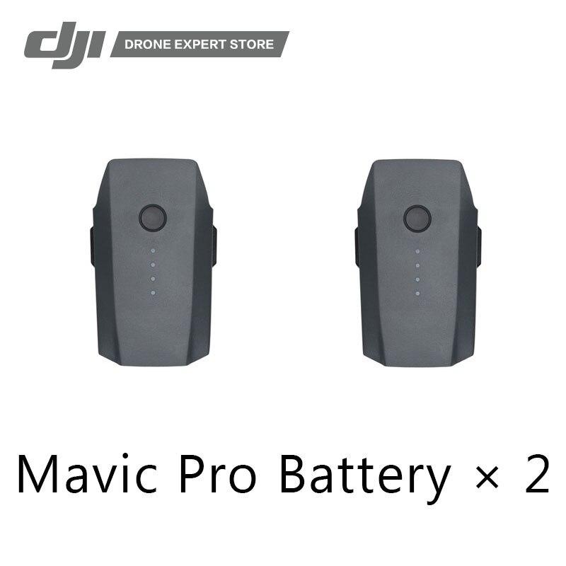 2 pcs/ensemble Original DJI Mavic Pro Intelligente Vol Batterie Un A Max 27-min Vols Temps 3830 mah 11.4 v